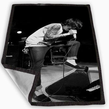 kellin quinn sleeping with sirens Blanket for Kids Blanket, Fleece Blanket Cute and Awesome Blanket for your bedding, Blanket fleece *