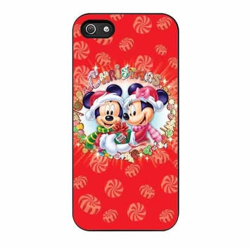 mickey and minnie mouse disney christmas cases for iphone se 5 5s 5c 4 4s 6 6s plus