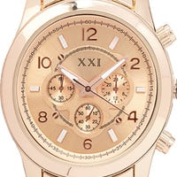 Iconic Chronograph Watch