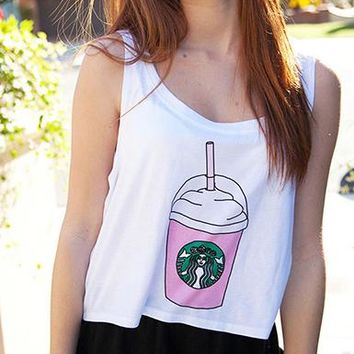 Simple Tank Crop Top - Cool Fresh Style