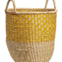 H&M Braided Seagrass Basket $24.99