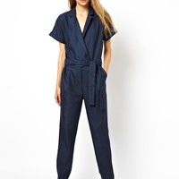 ASOS Jumpsuit in Check