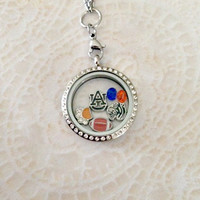 Living locket Auburn University Tigers
