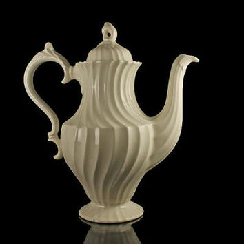 Coffee Pot, Myott, Olde Chelsea-White