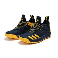 Adidas Harden Vol.2 Navy Yellow Men Sneakers