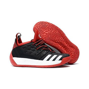 Adidas Harden Vol. 2 Black/red/white Basketball Shoes Us7 11.5