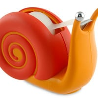 Snail Tape Dispenser | Cute Desk Accessories, Fun, Unique Tape Dispensers, Office Gift, Cool Desk Products | Catching Fireflies