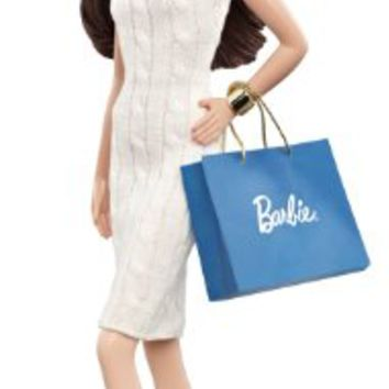Mattel Barbie Collector The Barbie Look Collection City Shopper Doll with White Dress