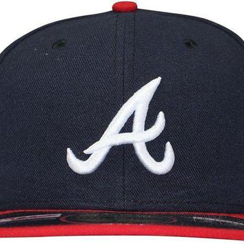 MDIGMS9 Atlanta Braves New Era Fitted Hat Size 7 1/2