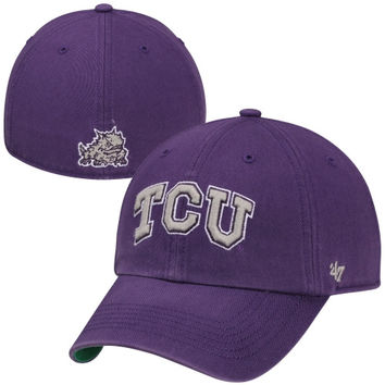 TCU Horned Frogs Franchise Fitted Hat – Purple