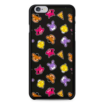 Fnaf Freddy S Faces Pattern Cute Kawaii Chibi iPhone 6/6s Case
