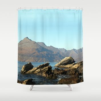 The gentle indifference of the world Shower Curtain by anipani