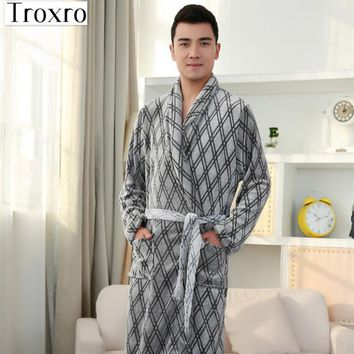 Bathrobe Men Long Sleeves Robe Regular Sleeve Bathrobes Man Mens Fishnet Top Towelling Kaftan Plus Size Yukata 2128