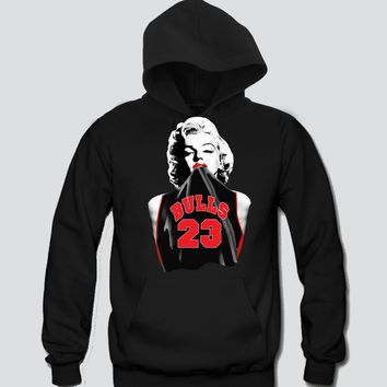 Marilyn Monroe Chicago Bulls (23) Hoodie Sports Clothing