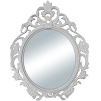 Walmart: Better Homes and Gardens Baroque Oval Wall Mirror