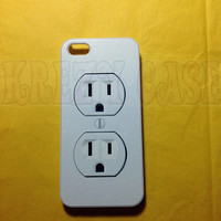 iPhone 5s case, Iphone 5 Case, Electric Outlet iphone 5 Cover, iPhone 5 Cases, iPhone 5c Case, Cute iPhone 5c Case