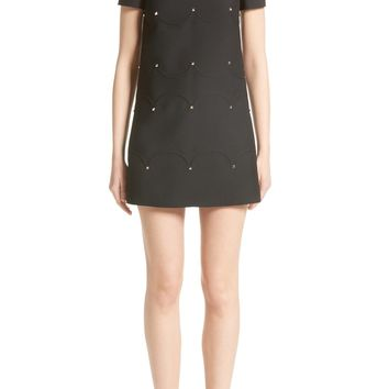 Valentino Studded Scallop Dress | Nordstrom