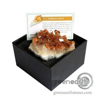 Green Earth Stores | 00213932693 - Rock Box - Citrine Cluster
