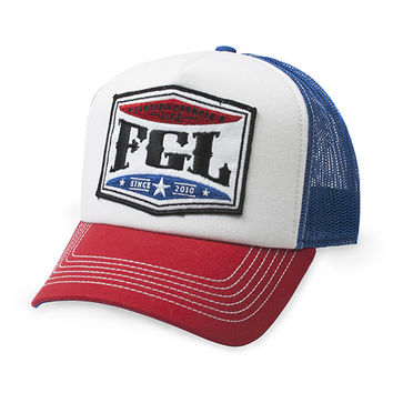 Florida Georgia Line Official Store | Florida Georgia Line Red White and Blue Hat