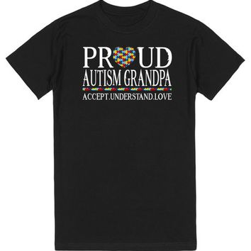Proud Autism Grandpa Autism Awareness