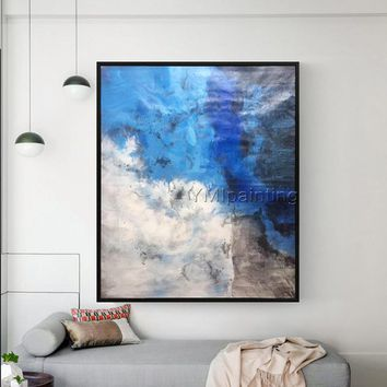Abstract painting acrylic painting on canvas original huge size abstract  Painting Wall Art Pictures for living room home cuadros abstracts