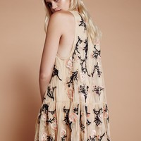Free People Annabelle Trapeze Dress
