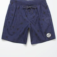 Vans Sloat Decksider II Volley Shorts - Mens Board Shorts - Black