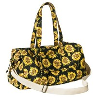Mossimo Supply Co. Sunflower Weekender Handbag with Removable Strap - Black