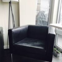 IKEA Leather Armchair