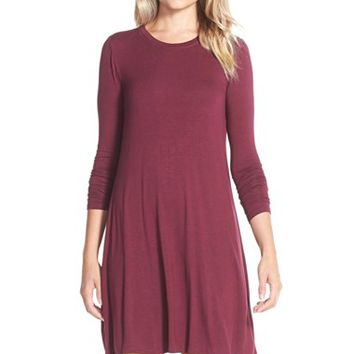 Women's BCBGMAXAZRIA 'Jeanna' Jersey A-Line Dress,