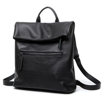 Hot Deal Stylish Casual On Sale Comfort College Back To School Simple Design Vintage Korean Backpack [4982896516]
