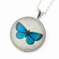 Handmade Gifts | Independent Design | Vintage Goods Lovely Butterfly Necklace - Vintage Creations