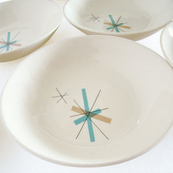 Salem North Star Hopscotch Berry Bowls, Set of 4