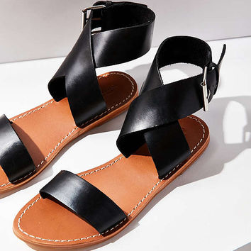 Kirstie Leather Sandal | Urban Outfitters