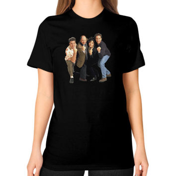 Nirvana Seinfeld Unisex T-Shirt (on woman)
