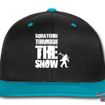 squatchin through the snow Snapback