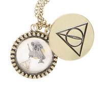 Harry Potter Deathly Hallows Shaker Necklace
