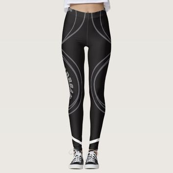"""Morgan"" Leggings (with designer signature)"