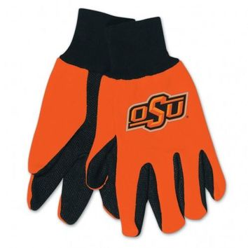 Oklahoma State Cowboys - Adult Two-Tone Sport Utility Gloves