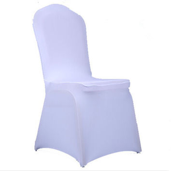 1pcs Universal Spandex Stretch Chair Covers Hotel Wedding Party Banquet Decoration