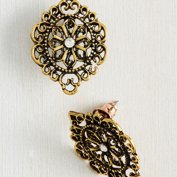 Artful Antiquing Earrings | Mod Retro Vintage Earrings | ModCloth.com