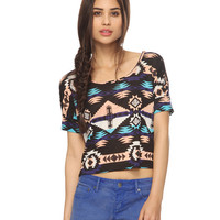 Southwest Fringed Back Top | FOREVER21 - 2000039247