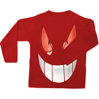 Pokemon Gengar Smile sweatshirt,long sleeve,sweater.