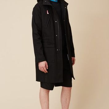 Raf Simons x Fred Perry Printed Back Parka - MEN - JUST IN - Raf Simons x Fred Perry