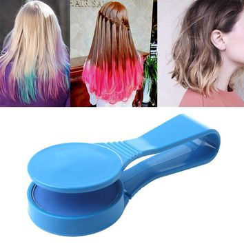 Hair Chalk Dye Hair Color Clip Powder Disposable Salon Styling DIY Kit Temporary Makeup Tool Hair Color 2017 Fashion New Women