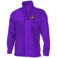 East Carolina Pirates Flanker Full Zip Fleece Jacket - Purple