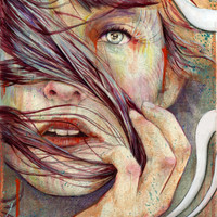 Opal Art Print by Michael Shapcott | Society6