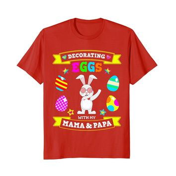Dabbing Easter Bunny T-Shirt for Son & Daughter Kids Youth