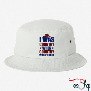 Country Before it was Cool bucket hat