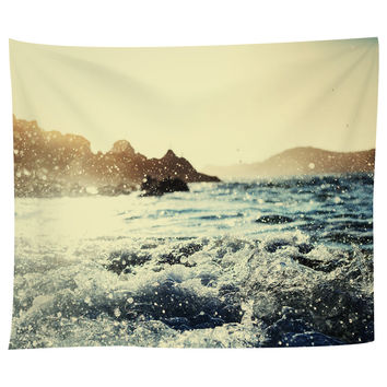 Seaside Sunrise Tapestry